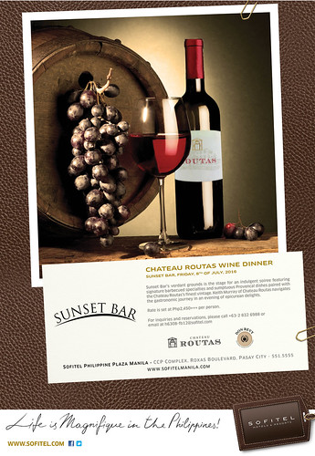 Chateau Routas Wine Dinner Poster