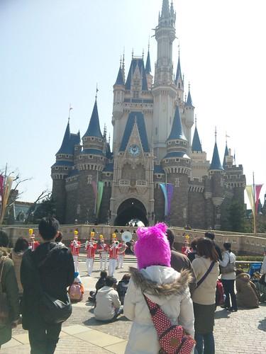 東京ディズニーランドなう