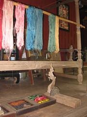 Just dyed silk - Ban Tha Sawang Village