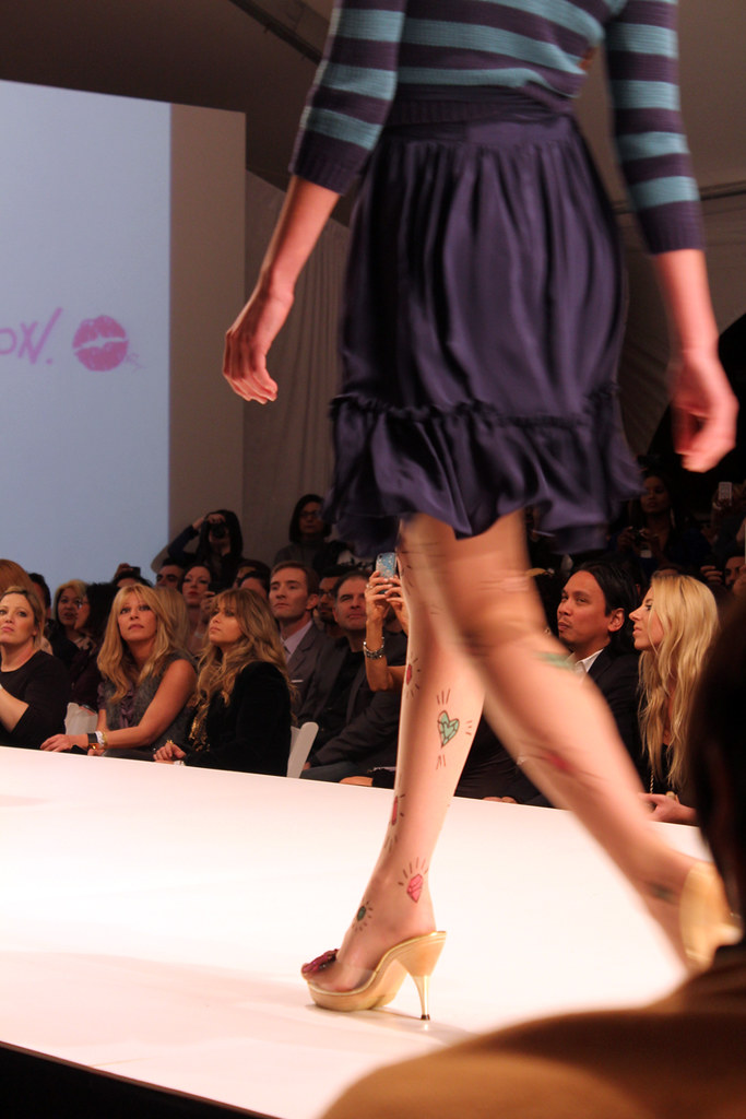 Betsey Johnson Runway Show at Sunset Gower Studios for LA Fashion Weekend