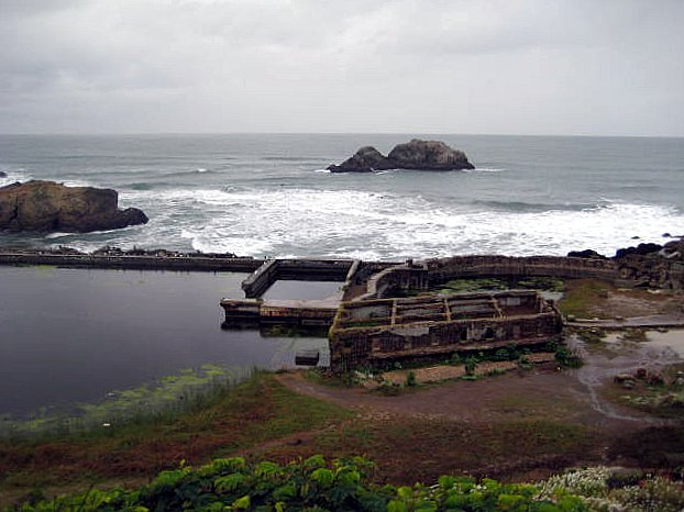 Sutro bath ruins, San Francisco, CA