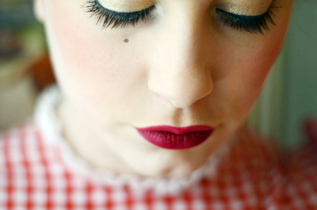 chanel lips.