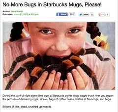 Example of freaking out. A tarantula???