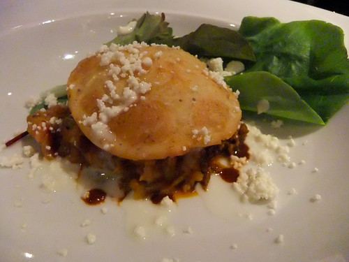 Gordita with Egg, Empellon Cocina