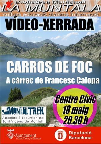 Vídeo-xerrada: Carros de foc @ Centre Cívic 18 maig 20.30 h. by bibliotecalamuntala