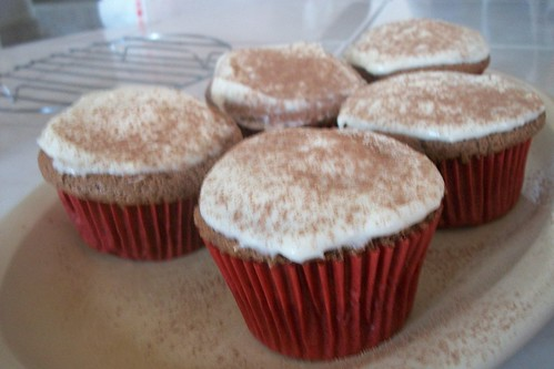 Cup cakes tipo Red Veltvet