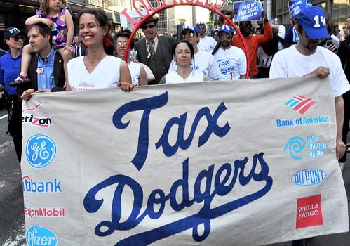 Tax Day New York. April 17, 2012