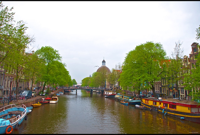 AmsterDOME canal view