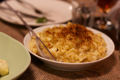 Four cheese mac 'n' cheese