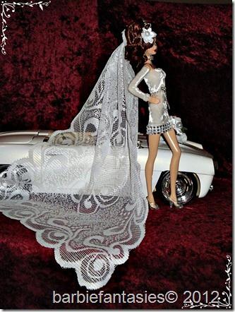 Wedding fashion. The socialite