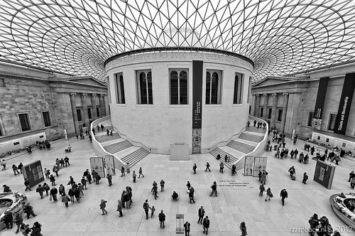 Set in midst of knowledge / British Museum / London