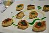 Amuse bouche: salt cod croquettes