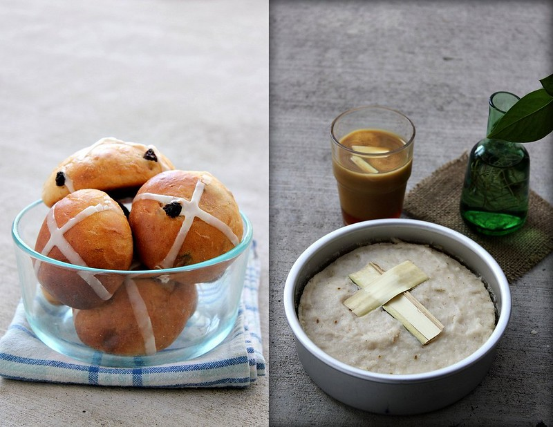 Hot Cross Buns & Indri Appam