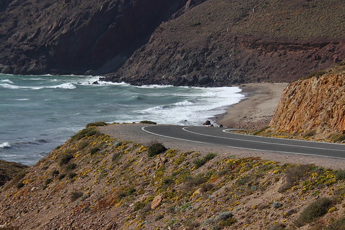 Carretera a la playa