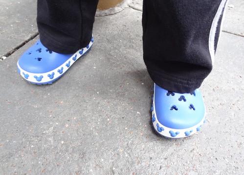 Archie's New Disney Crocs