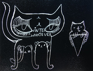 winter whatever ice cream cats