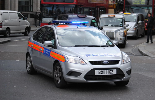 Metropolitan Police / Ford Focus / Incident Response Vehicle / xxx / BX11 HKZ