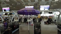 Suvarnabhumi Airport Departure Level, Bangkok