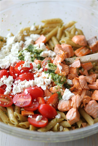 Cookin' Canuck - Whole Wheat Pasta Salad Recipe with ...