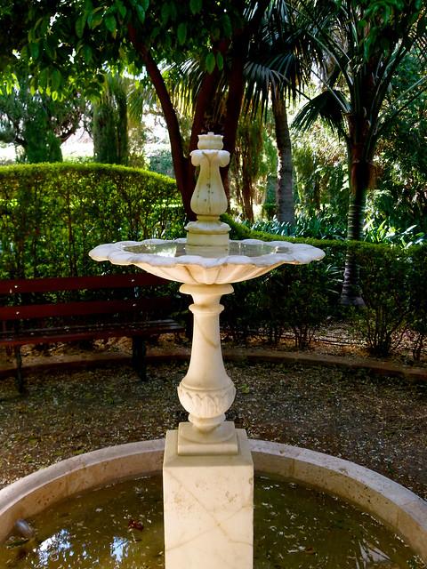 fuente ornamental en el jard n hist rico nacional de monfo