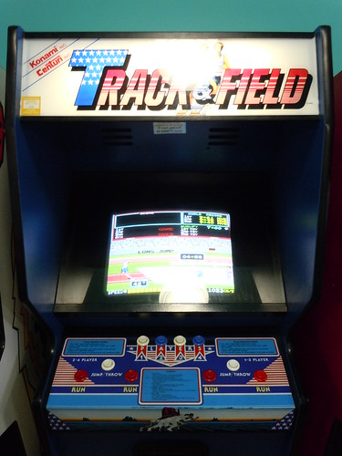 04-21-12 Rusty Quarters Arcade, Minneapolis, MN (Track & Field)