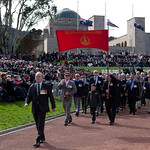 Anzac Day National Service at the Australian War Memorial