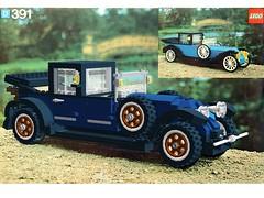 1926 Renault Lego Nr. 391