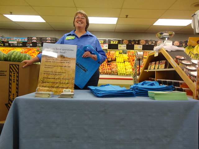 Linda Schwarz shares about food & ag production at Russ's Market
