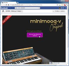 Minimoog-Vが無料で入手できるぞ!Arturia社長に聞くアナログ