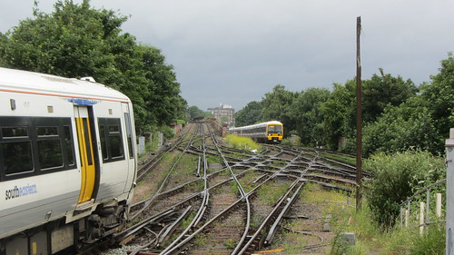 Junction at Lewisham, London