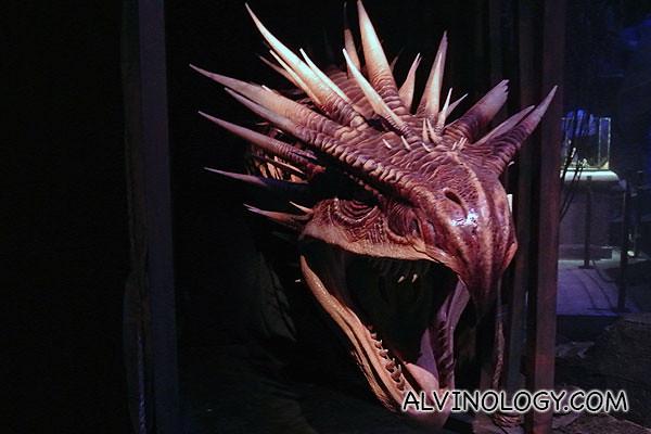 A dragon head