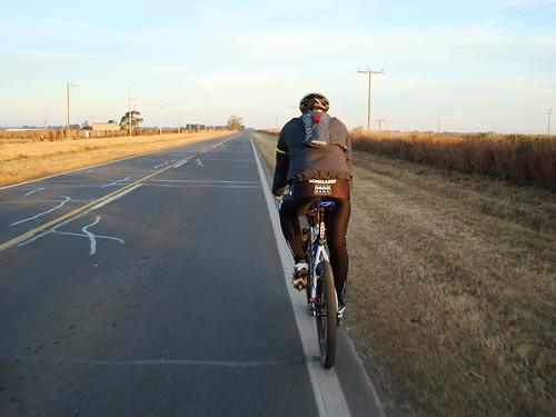Ciclismo - 178km - Salida a Diaz y Monje