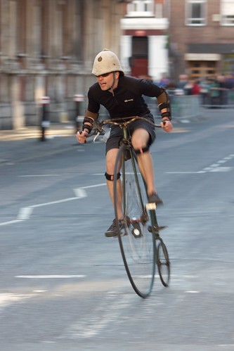 Smithfield Nocturne 2012 - Penny Farthing Racing