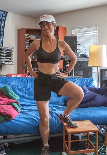 Julie post-run