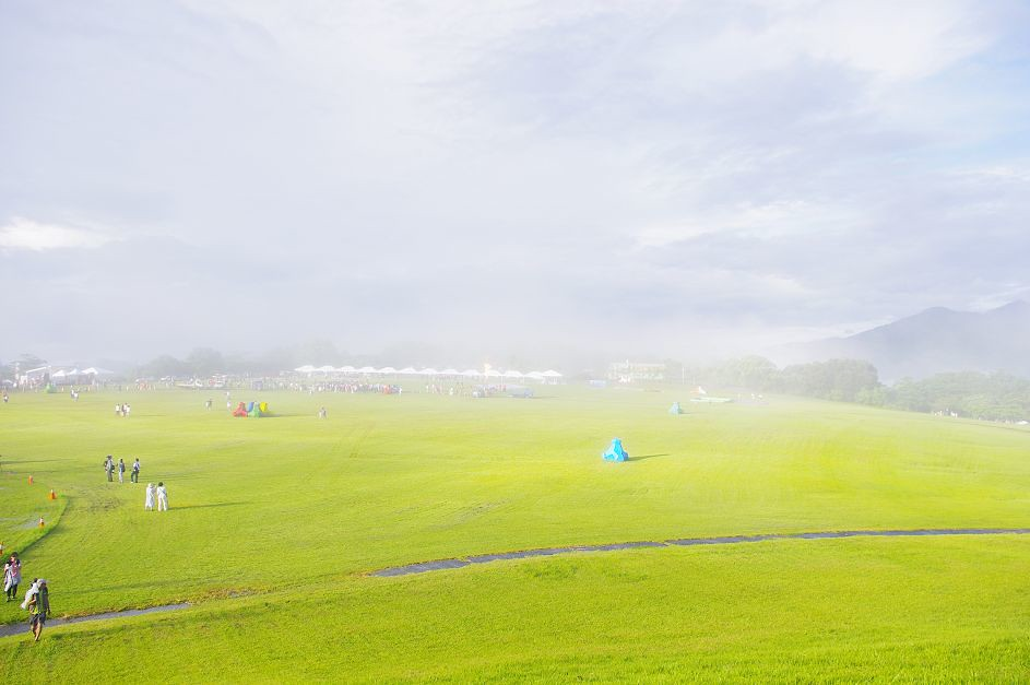 鹿野高台 熱氣球嘉年華