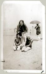 Trio at the beach