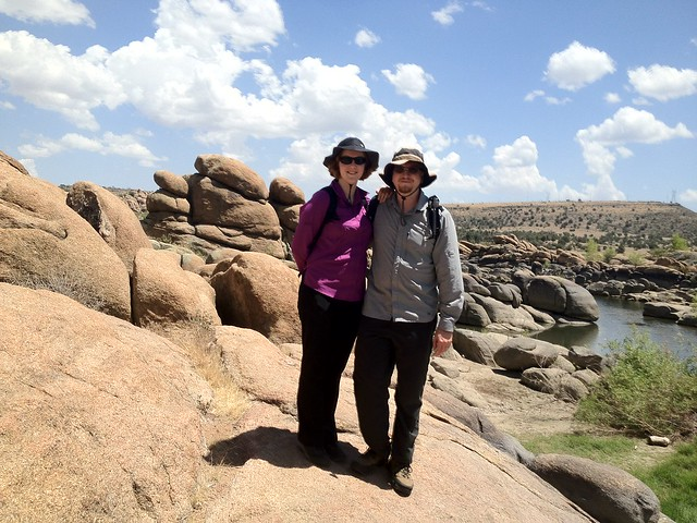 Hiking at Lake Watson in Prescott Arizona