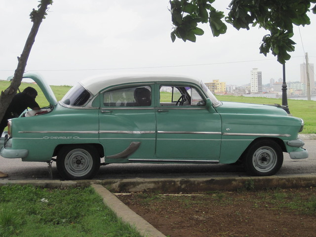 old chevy havana taxi