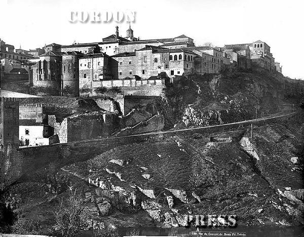 Conventos de la Concepción Francisca y Santa Fe  de Toledo hacia 1875-80. © Léon et Lévy / Cordon Press - Roger-Viollet