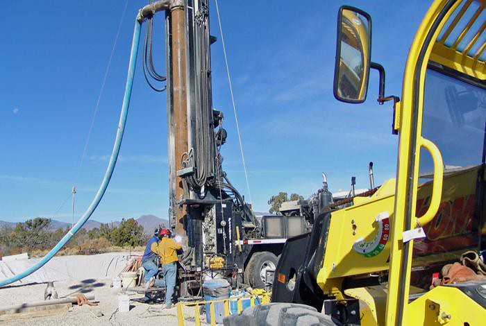 LANL monitors water at more than 200 wells and sample ports at various depths.