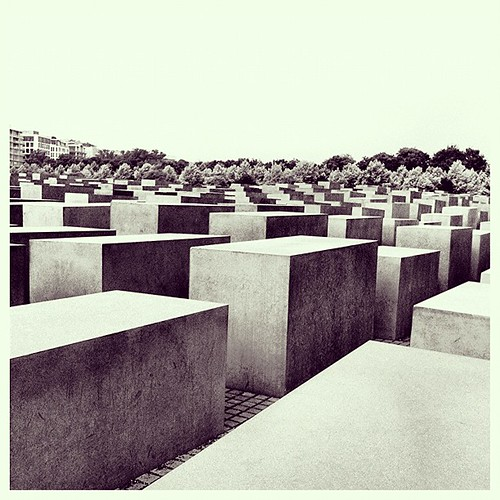 Memorial to the murdered Jews of Europe.