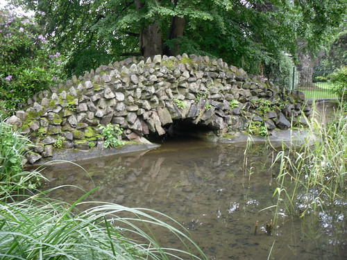 a stone bridge at Great Malvern