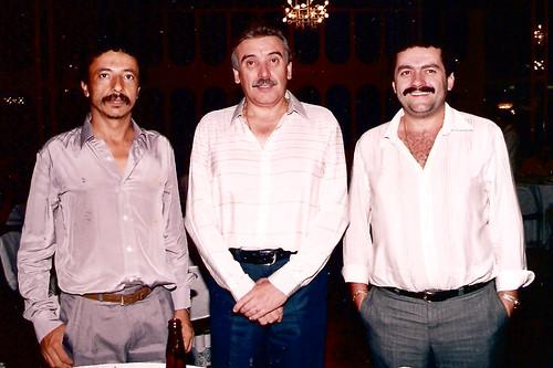 Miguelzinho, Leonil e Moisés Zanardi