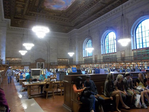 Another reading room, Bryant Park Public Library