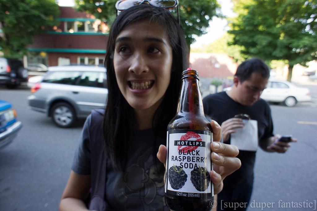 Saturday Swig - HotLips Soda