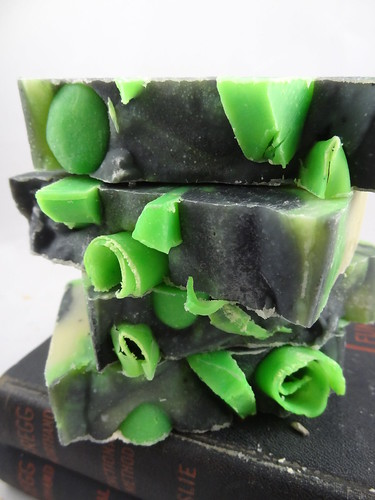 Lime & Ginger Soap July 2012 (7)
