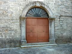 Porte d'une maison de Cozzano