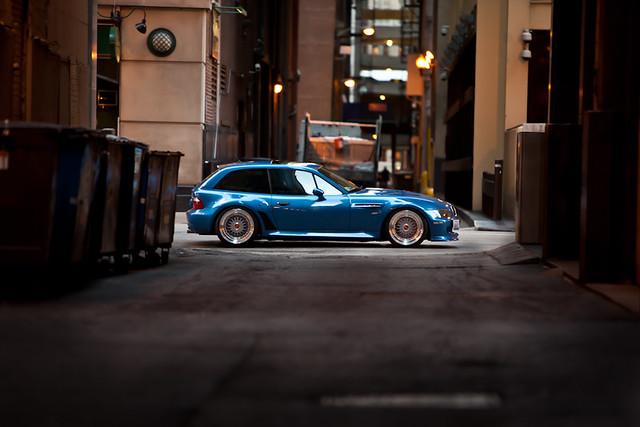 1999 BMW Z3 M Coupe | Estoril Blue | Estoril/Black | Rotiformed BBS RS 18