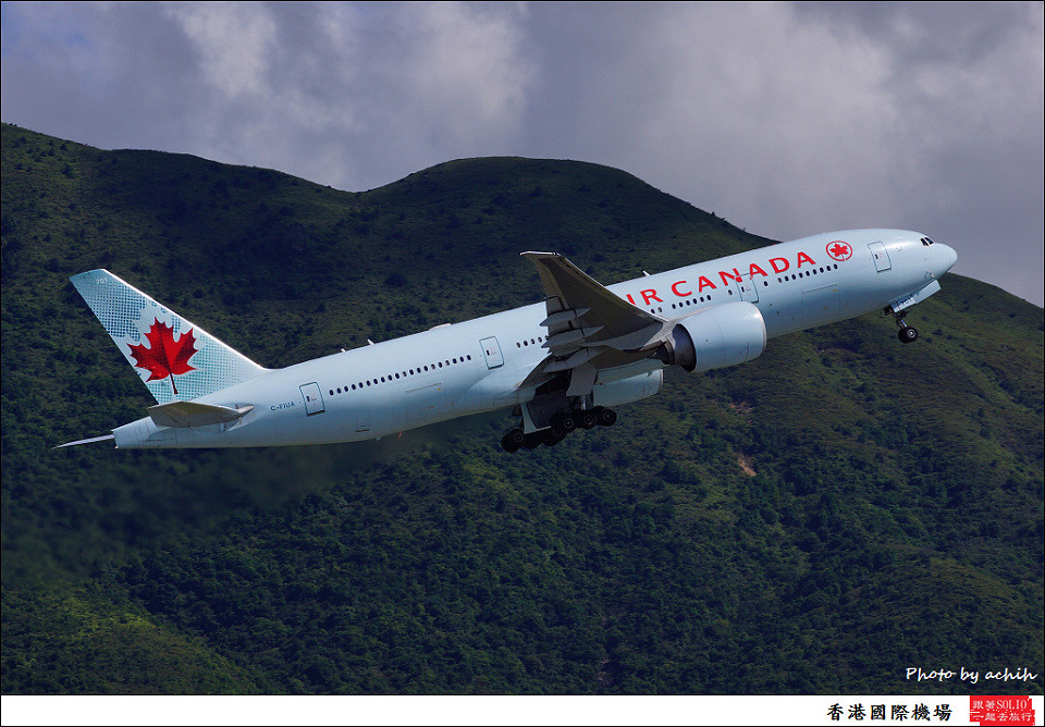 Air Canada / C-FIUA / Hong Kong International Airport