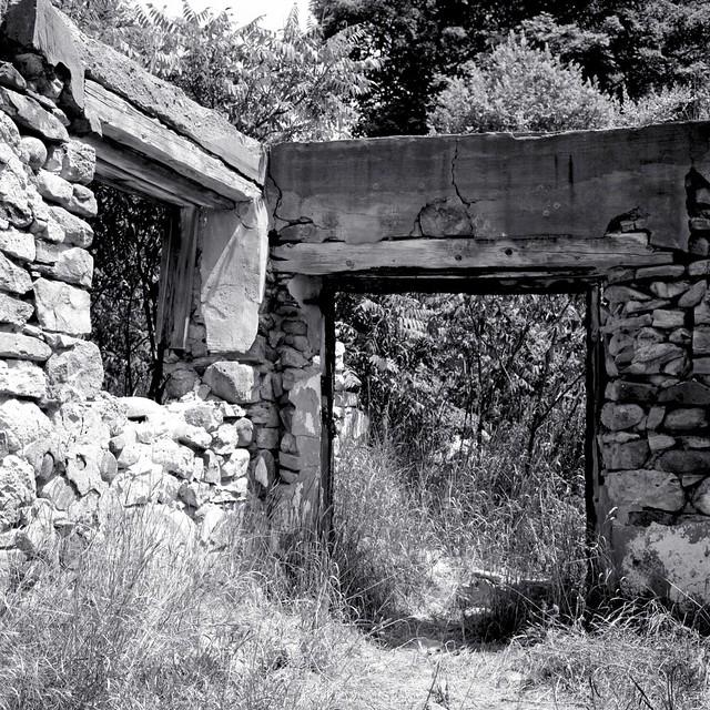 Barn Ruins I